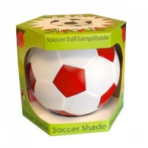 Red Football Lampshade