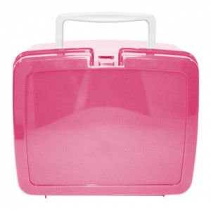 Pink School Lunch Box | School Lunch Boxes | Amey Online