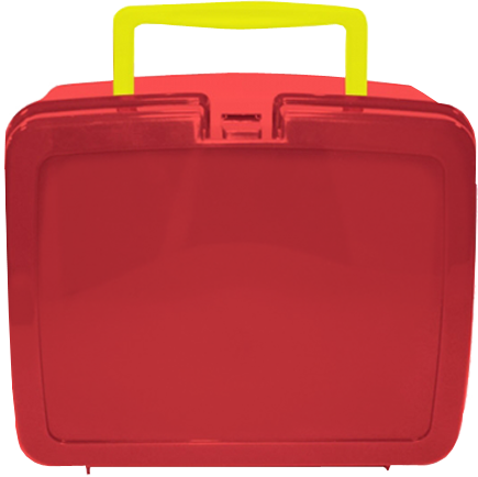 Red School Lunch Box | School Lunch Boxes | Amey Online